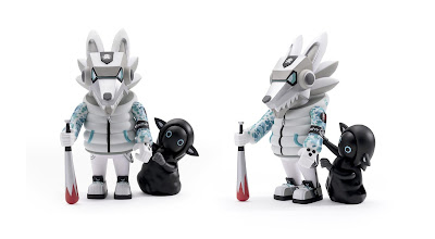Ukami x Hitsuji Winter Guardian Edition Vinyl Figure by Quiccs x Kidrobot