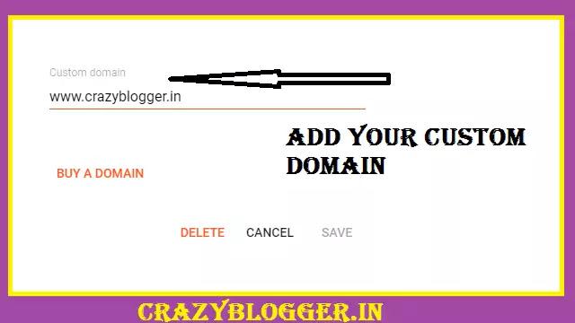 Godaddy Domain Name Blogger में कैसे Add करते हैं