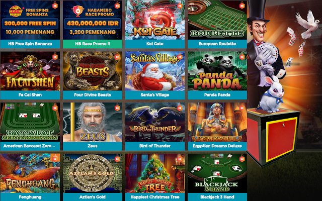 Bintang88 menyediakan permainan Slot online populer Habanero yang memiliki 167 permainan slot game dengan animasi flash serta di dukung oleh platform seluler yang menggunakan teknologi HTML 5. Banyak tersedia promo fitur terpicu & jackpot besar-besaran yang telah siap menanti kehadiran anda di tahun 2020 ini.