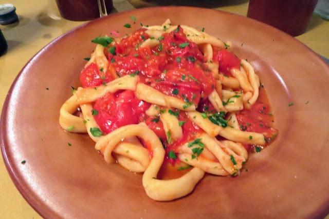 Rome in January: homemade pasta at Osteria Da Fortunata