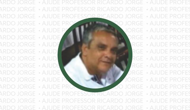 Professor Ricardo Jorge precisa de ajuda