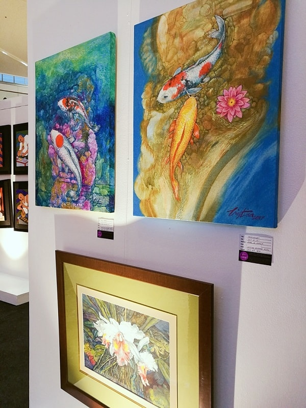 Women of Arts Exhibition at SM Aura