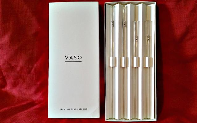 VASO Glass straws