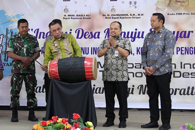 Wakil Bupati Kep. Selayar Buka Resmi,Pameran Bursa Inovasi Desa 2019