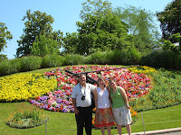 Reloj de flores,Ginebra, Suiza, Flower Clock, Geneva, Switzerland,  Horloge Fleurie, Genève, Suisse, vuelta al mundo, round the world, La vuelta al mundo de Asun y Ricardo