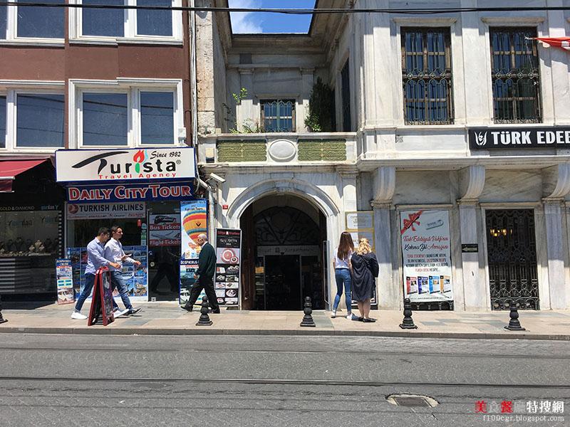 [土耳其] 伊斯坦堡/Sultanahmet站附近【Hafız Mustafa】知名連鎖甜點店 嚐遍各種當地土耳其甜點
