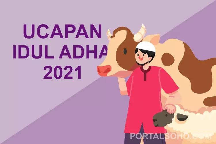 Ucapan Idul Adha 2021 Menyentuh di Tengah Pandemi