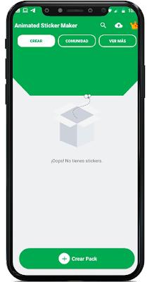 como hacer un sticker con movimiento para WhatsApp