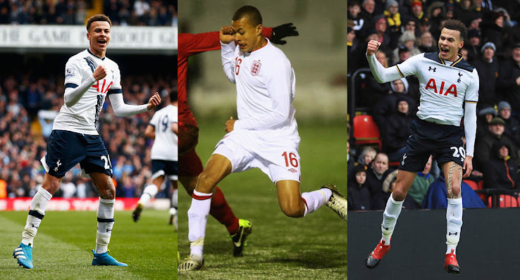7753dd633015 Spurs midfielder Dele Alli celebrates his 21th birthday today. We take a  look at our five favorite soccer boots worn by the England international,  ...