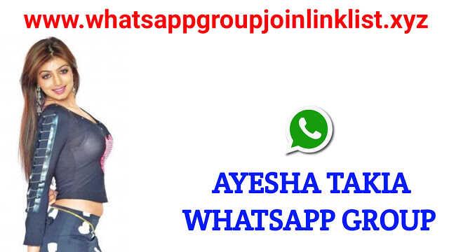 Ayesha Takia Fans Whatsapp Group Join Link List