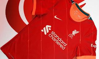 قميص ليفربول الجديد للموسم 2022