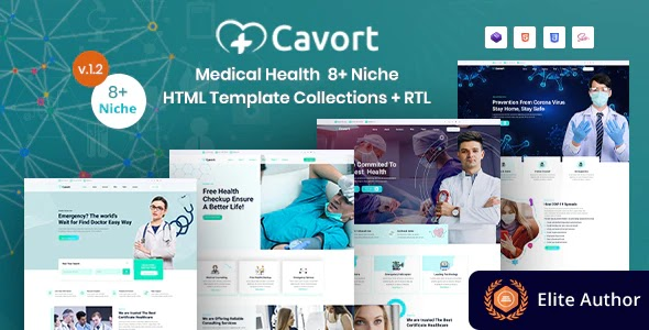 Medical Health Website Template