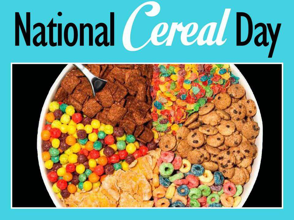 National Cereal Day Wishes Beautiful Image