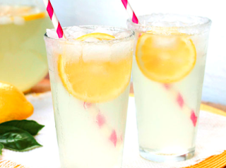 Lemonade gellan beverage