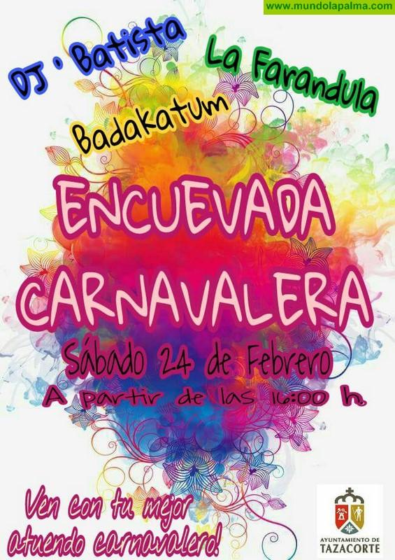 Encuevada Carnavalera en Tazacorte