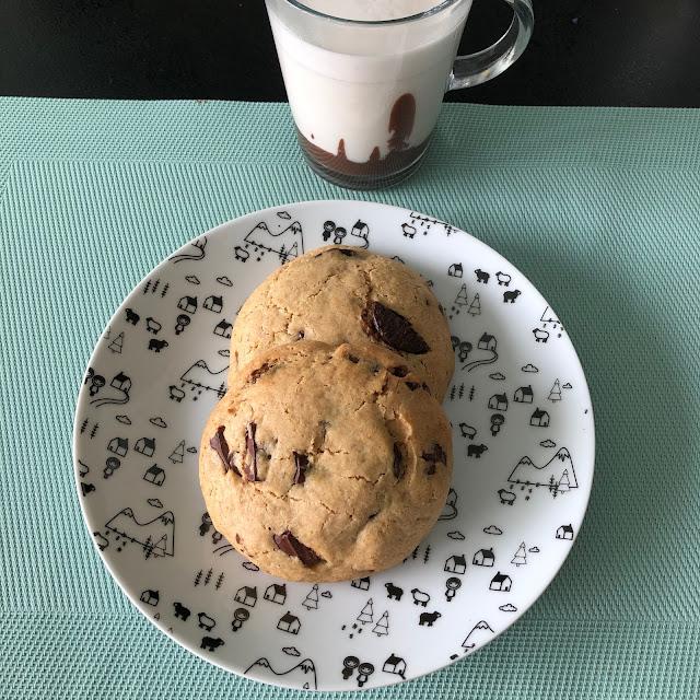 Maxi cookies aux pépites de chocolat, ManzaBull