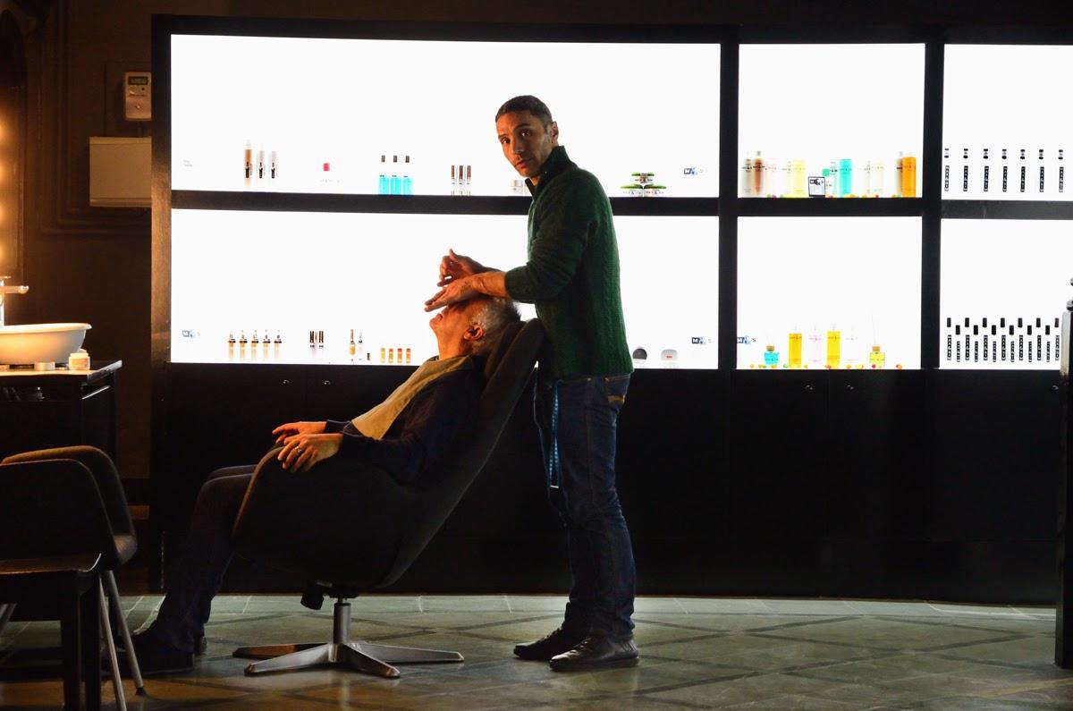 Facial massage carrer Carders, Barcelona