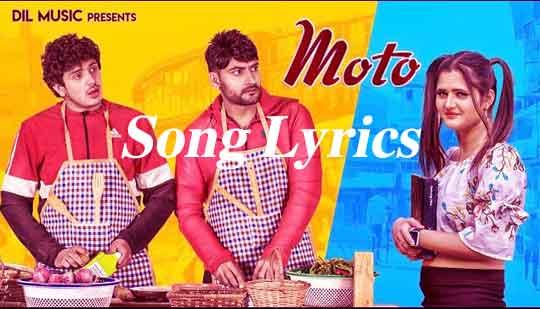 MOTO SONG LYRICS | Ajay Hooda | Latest Haryanvi Song 2020