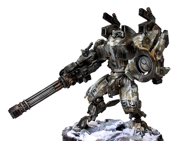 Showcase: Tau Riptide with 3D Printer parts - Tale of Painters