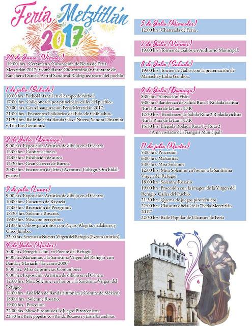 programa feria metztitlán 2017