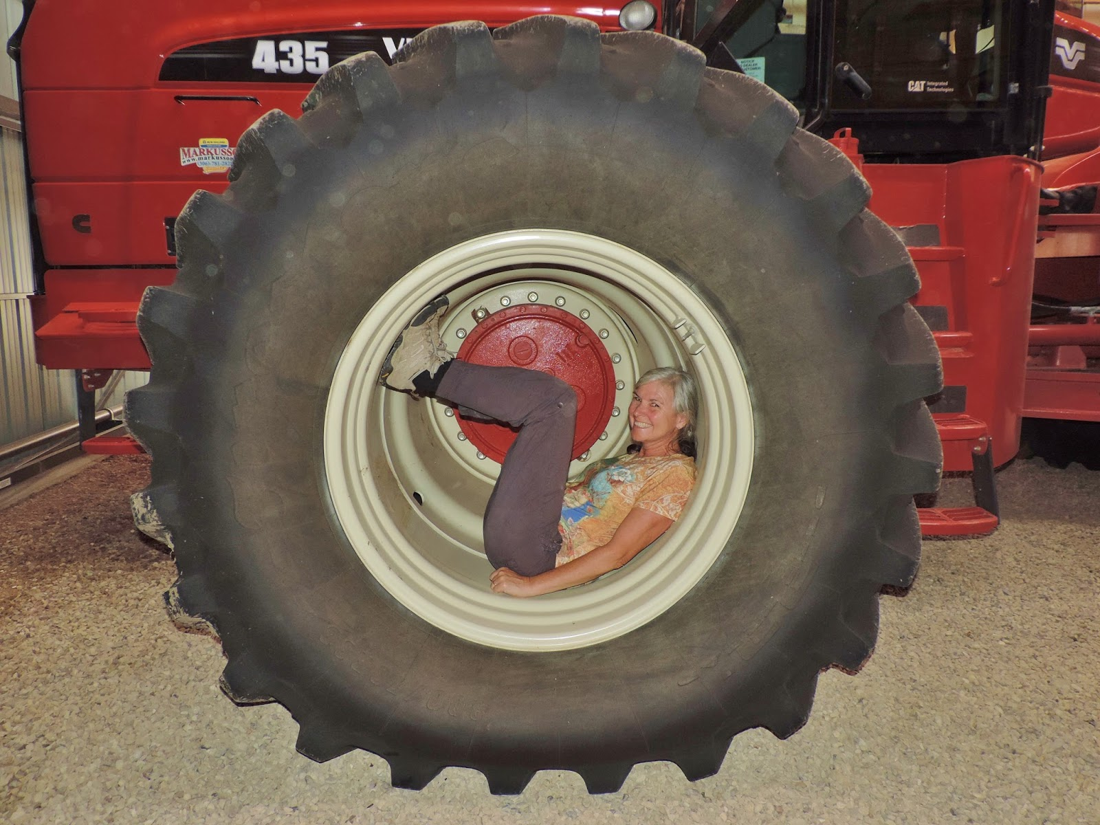 Travel with kevin and ruth there 39 s something you don 39 t for Big tractor tires for free
