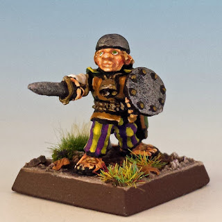 Dery Podgebelly, Citadel C11 Halflings (sculpted by Perry Twins, 1985)