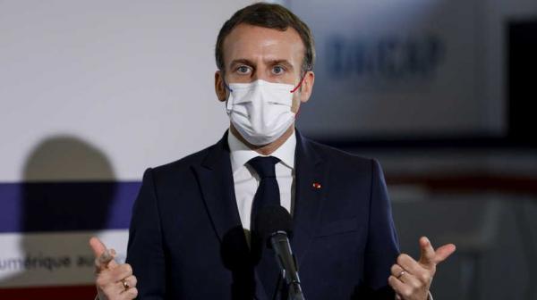 """عاجل...الرئاسة الفرنسية تعلن عن إصابة """"ماكرون"""" بفيروس كورونا"""