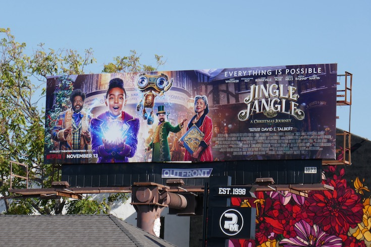 Jingle Jangle Christmas Journey movie billboard