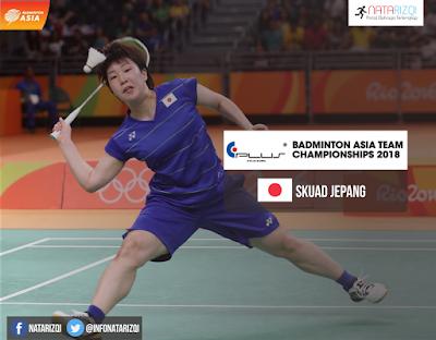 Jepang di Badminton Asia Team Championship 2018