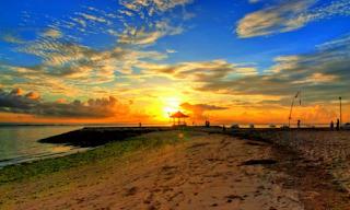 SUNRISE IN SANUR BEACH