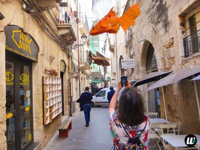 Narrow street in Ortigia, Siracusa | Sicily, Italy | wayamaya