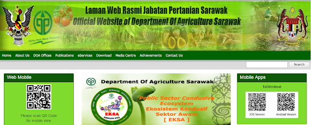 Rasmi - Jawatan Kosong (DOASarawak) Jabatan Pertanian Sarawak Terkini 2019