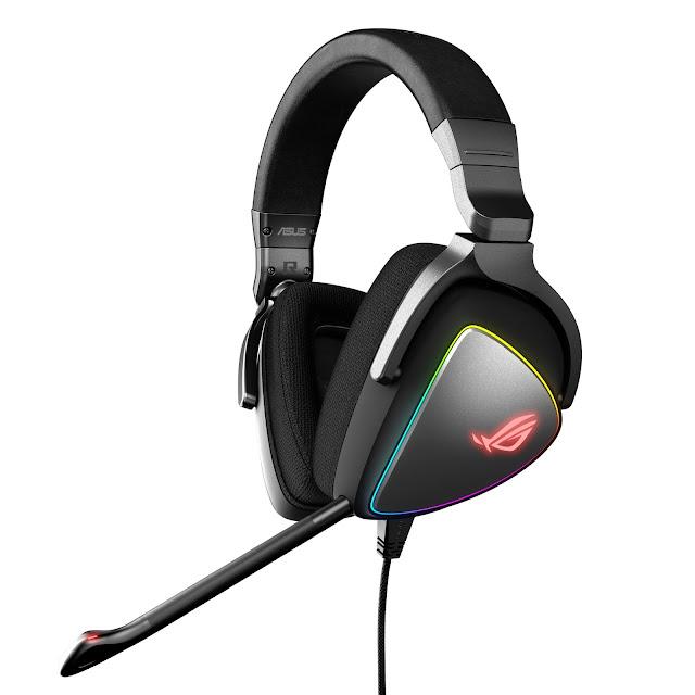 ASUS ROG apresenta headsets Delta e Delta Core