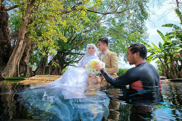 Foto Prewedding Di Umbul Manten