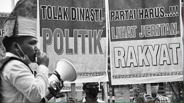Beda Era Soeharto, Rakyat Sekarang Diam Saat Jokowi Vulgar Pertontonkan Politik Dinasti