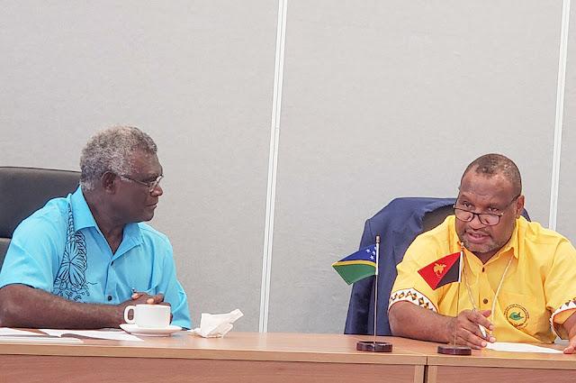 Sarapan Pagi, PM Solomon dan PM Papua Nugini Diskusi Soal West Papua