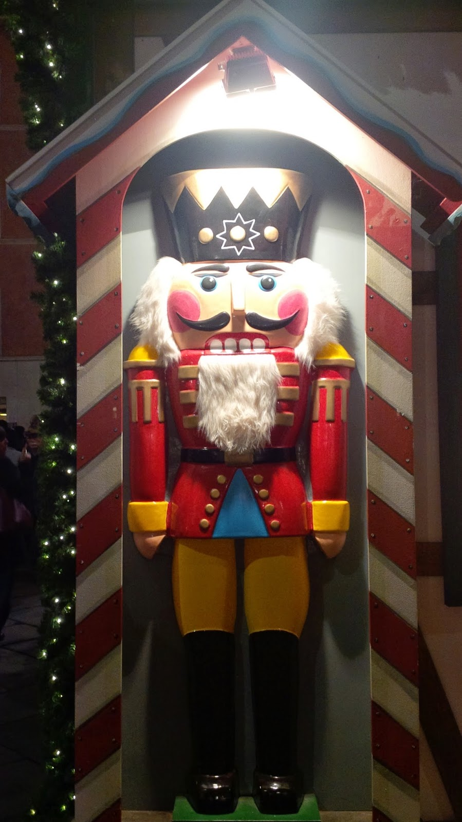 The Nutcracker at the Christmas market in Verona