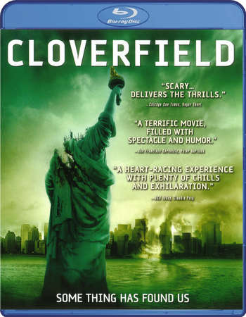 Poster Of Cloverfield 2008 English 300MB BRRip 480p ESubs Free Download Watch Online Worldfree4u