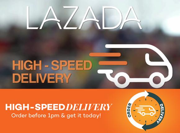 Tawaran Menarik Lazada High-Speed Delivery Di Malaysia