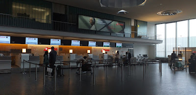 Check-In 1 Zuerich Airport