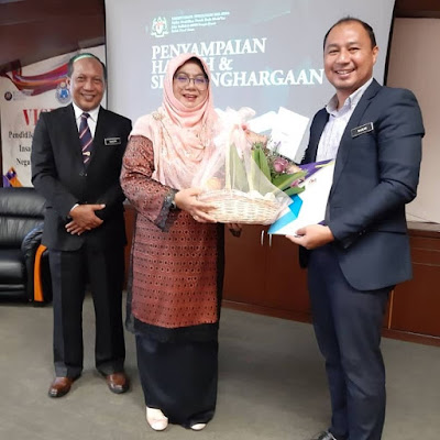 Terima kasih buat Pegawai PPD Kuala Muda Yan, Hajah Ommi Kalsom binti Haji Ibrahim