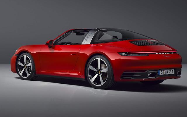 Novo Porsche 911 Targa 2021