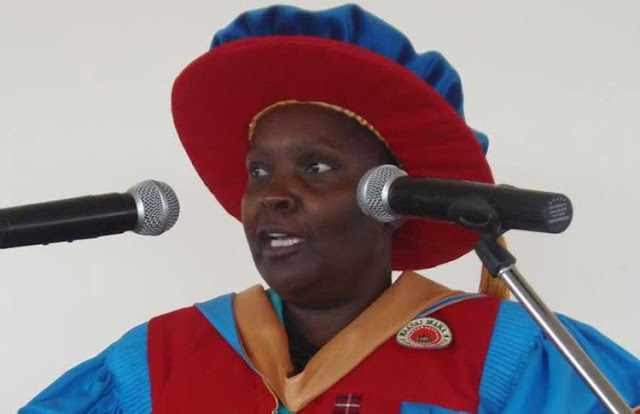 Maasai Mara University Vice-Chancellor Mary Walingo photos and news