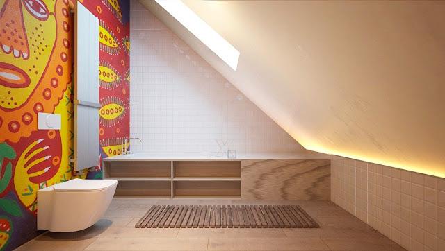 Simple Pop Design For Bathroom