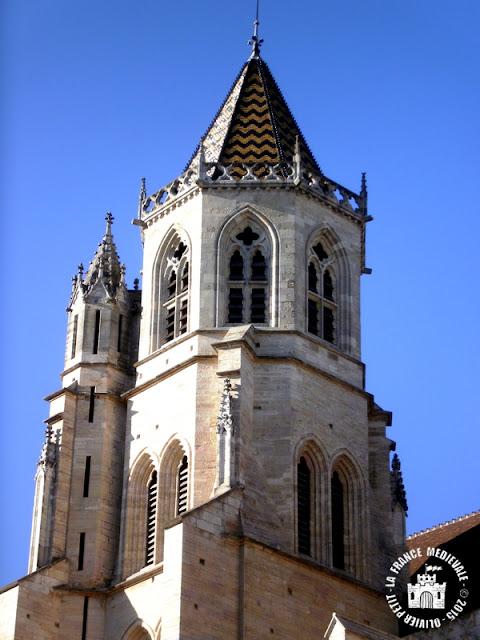 DIJON (21) - Cathédrale Saint-Bénigne (XIIe-XVe siècles)
