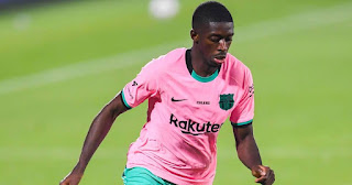 Barcelona gives Ousmane Dembele deadline to agree on contract renewal or choose January exit