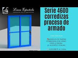 Armado Ventana Serie 4600 Española 2020