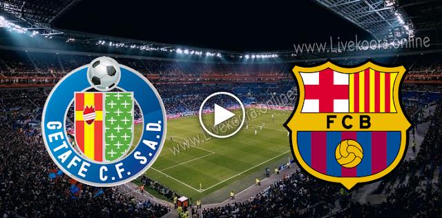 موعد مباراة خيتافي وبرشلونة بث مباشر بتاريخ 17-10-2020 الدوري الاسباني