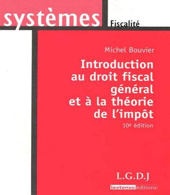 Introduction au droit fiscal général et à la théorie de l'impôt en PDF