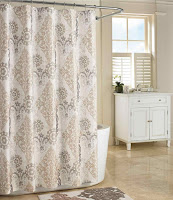 Patterns for shower curtain